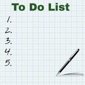 Creating A To Do List To Focus